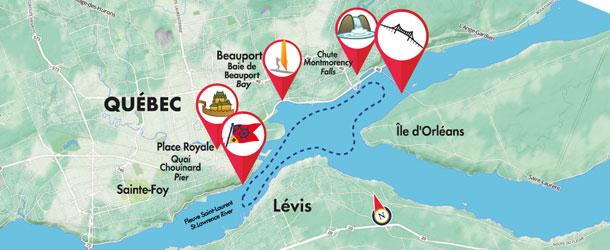 A river cruise around Quebec City | Tours Voir Quebec on